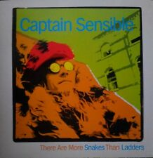 """Captain Sensible (Damned) There Are More Snakes Than Ladders UK 7"""" Vinyl Single"""
