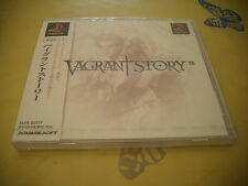 >> VAGRANT STORY PLAYSTATION 1 I SQUARE RPG JAPAN IMPORT NEW FACTORY SEALED! <<