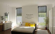 Beautiful Dreamer  vinyl wall decal