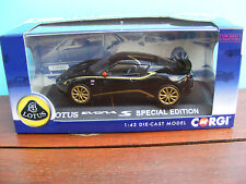 Lotus Evora S SpecialEdition in Black and Gold Corgi Limited Editions 1:43scale