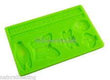 BUTTERFLY INSECT Silicone Cake Decoration Sugarpaste Fondant Bakeware Mould Mold
