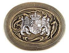 ea7e13bdb1f922 Gürtelschnalle Schließe - Wappen Bayern Krone Löwe messing - Geschenk  Geburtstag