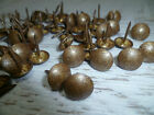 Upholstery Nails - Furniture Studs/Tacks/Pins - 11mm Old Gold - 200 Count