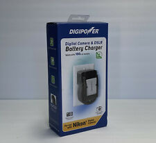 DigiPower Universal Battery Charger – Canon Nikon - Compatible With 100's Camera