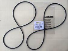 2 x Riemen für KÄRCHER KehrmaschineS500 S550 S650 KM530, KM550, 6.363-012.0
