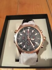 Bulova Marine Star Men's Watch Rose Gold BNIB