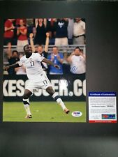 JOZY ALTIDORE USA NATIONAL TEAM SIGNED 8X10 PHOTO PSA/DNA COA Y60465
