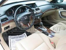 HONDA ACCORD SEDAN COUPE INTERIOR WOOD DASH TRIM KIT 2008 08 2009 2010 2011 2012