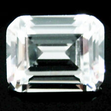 1.00Ct (5x7mm) EMERALD CUT My Russian Diamond Simulated Lab Created Loose Stones