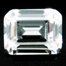 1.00Ct (5x7mm) EMERALD CUT My Russian Diamond Simulated Lab Created Loose Stones