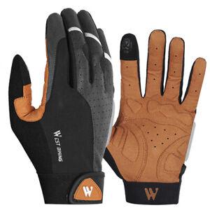 WEST BIKING Cycling Gloves Full Finger Touch Screen Anti Slip Gloves (S)