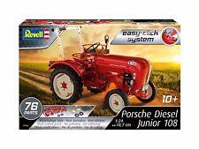 Revell 07820, Porsche diesel junior 108, easy-click, Kit, 1:24, nuevo