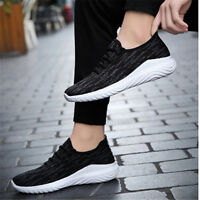 New Men Athletic Sports Sneakers Breathable Shoes Outdoor Casual Running Weave