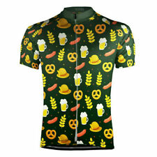 Oktoberfest  Short Sleeve Cycling Jersey Free Shipping