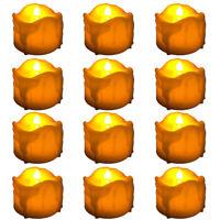 New 12pcs Flameless LED Votive Candles Flickering TeaLight Party Wedding Decor