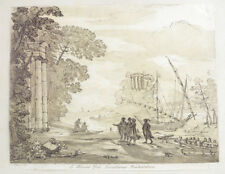 Claude Gellee (French 1600-1682) Etching E Museo dni Jonathanis Richardson