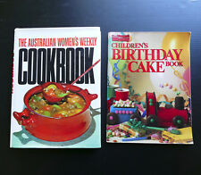 The Australian Women's Weekly Original Cookbook + Children's Birthday Cake Book