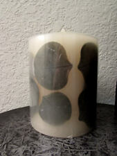 """Pottery Barn ~ Premium Faux Flamesless Flicker Candle 4"""" x 4"""" ~ Excellent Buy"""