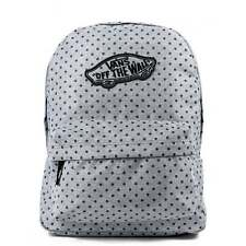 VANS Realm Backpack Blue Wash Twill Schoolbag V0NZ0KK4 UK Stockist *FREE Haribo