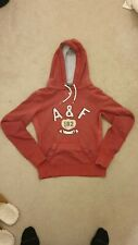 Abercrombie And Fitch Red Women's Hoodie - Size S