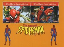AMAZING SPIDERMAN DR polpo centrafricaine 2017 MNH STAMP SHEETLET