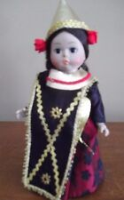 "INDONESIA costume  MADAME ALEXANDER 8 "" hard plastic DOLL"