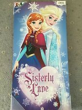 Frozen's Anna and Elsa Sisterly Love Canvas Wall Art