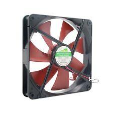 Silent 140mm 14cm DC 12V 4D Computer Cooling Fan PC Desktop Cooling Fan DB S