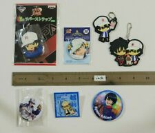The Prince of Tennis Ryoma Echizen Keychain Pin button badge /te60