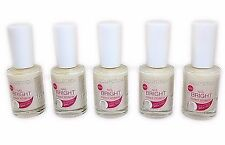 5 x Collection 2000 Nail Bright Instant Whitener Bulk Buy Whiter Nails Manicure