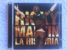 RICKY MARTIN LA HISTORIA CD COLUMBIA SALSA CHA-CHA BALADAS