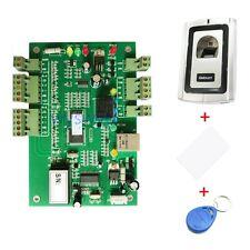 Single Door Attendance Access Control TCP/IP + Fingerprint RFID Reader + Card
