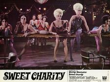 SHIRLEY MacLAINE CHITA RIVERA SWEET CHARITY 1969 VINTAGE LOBBY CARD ORIGINAL #2