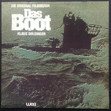 DAS BOOT Cult War Film Soundtrack LP Klaus Doldinger Jurgen Prochnow WW2 U-boats