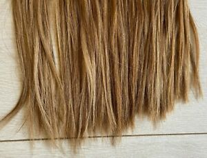 Human Hair Bonded Extensions Dark Ash Russian Blonde Balmain/Great Lengths