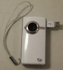 Flip Ultra Video Camera 4GB 2hrs 2nd Generation U1120W White