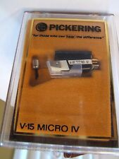 PICKERING V-15 MICRO-IV -AME PHONO CARTRIDGE. NOS NEW UNUSED.