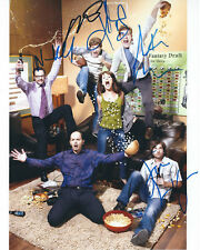 THE LEAGUE AUTOGRAPHED PHOTO SIGNED 8X10 #2 TOOK 4 YEARS TO COMPLETE 6 AUTOS