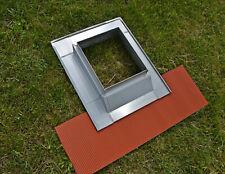 Garniture de cheminée en zinc - Ajustable hauteur + côtés NEUF LIVRAISON ASSUREE