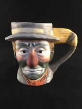 Vintage Emmett Kelly Jr Flambro Signature Collection Weary Willie Mug