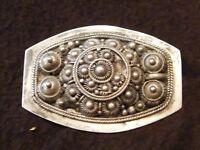 Broche en Argent Massif  Silver Silber