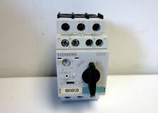 SIEMENS MOTOR STARTER PROTECTOR 3RV1021-1AA15  1.1-1.6A + AUX.SWITCH 1NO/1NC