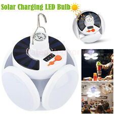 Foldable Solar Outdoor Garden Camping LED Light USB Rechargeable Hanging Lamp US