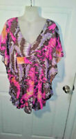 NWT MSRP$314 Alice Trixie SZ S Multi Colored 100% Silk Top Fast Free US Shipping