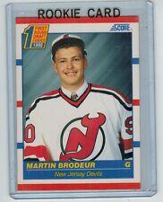 1990-91 SCORE MARTIN BRODEUR #439 ROOKIE NEW JERSEY DEVILS