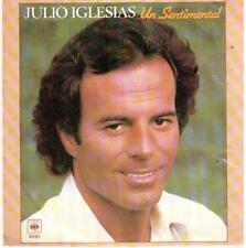 """<917> 7"""" Single: Julio Iglesias - Un Sentimental / Viejas Tradiciones"""