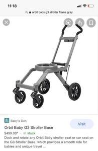 Orbit Baby G3 Stroller Base, Grey Brand NewIn Box