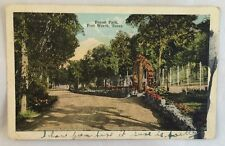 1922 Postcard Forest Park Fort Worth Texas TX PC
