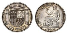 SPAGNA Seconda Repubblica Spagnola 1 Peseta 1933