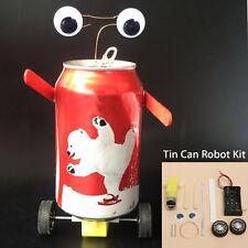 Tin Can Robot Kit Robotics DIY Science Fun Imagine Recycle Educational Toys